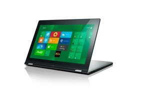 Lenovo's very clever 'Yoga' Windows 8 ultrabook/tablet. Photo / Supplied