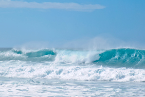 The study concluded that waves could provide 10 per cent of Australia's energy needs by 2050. Photo / Thinkstock