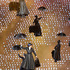Mary Poppins characters appear during the olympic ceremony. Photo / Mark Mitchell