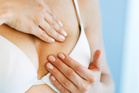 Breast checks are particularly important for women with larger breasts. 