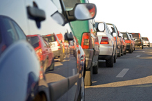 The two-lane bottleneck carries an average of 31,400 vehicles a day. Photo / upplied