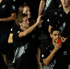 The New Zealand team enters the Olympic stadium during the opening ceremony. Photo / AP