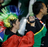 South African athletes march during the Opening Ceremony. Photo / AP