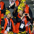 Athletes from Malaysia march in a parade during the Opening Ceremony. Photo / AP