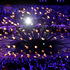 The Olympic cauldron is lit during the Opening Ceremony. Photo / AP