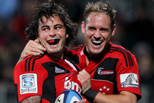 The Crusaders last week played classic finals rugby while beating the Bulls in Christchurch. Photo / Getty Images.