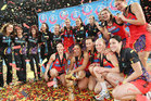 The victorious Waikato-Bay of Plenty Magic will celebrate their ANZ Championship crown with a parade in Tauranga and a reception in Hamilton tomorrow. Photo Mark McKeown/Musae Studios