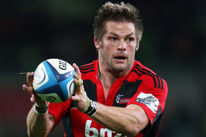 Richie McCaw is more valuable now than ever to the Crusaders. Photo / Getty Images.