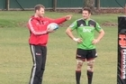The Crusaders prepare for their upcoming Super Rugby semifinal against the Chiefs on Friday night.
