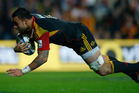 Liam Messam of the Chiefs scores a try during the Super Rugby Semi Final match between the Chiefs and Crusaders. Photo / Getty Images.