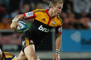 Tim Nanai-Williams, Robbie Robinson (pictured) and Asaeli Tikoirotuma have all re-signed with the Chiefs franchise until 2014.