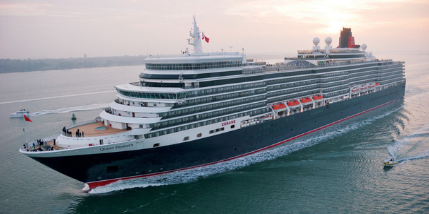 The liner Queen Elizabeth is a star of Cunard's fleet. Photo / Supplied