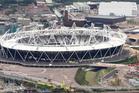 The 2012 Olympic Stadium. Photo / AP