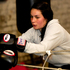 Nikki Adams rests after sparring with Sunita Lallu at City Boxing Gym. Photo / Steven McNicholl