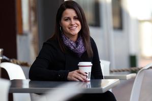 Catherine Sissons warns dieters to watch their caffeine intake. Photo / Doug Sherring