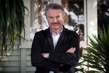 Despite owning a vineyard, Sam Neill says he doesn't get drunk, which he credits for not having the meltdowns his profession is known for. Picture / Natalie Slade
