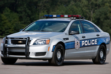 The Chevrolet Caprice Police Patrol Vehicle is now being used by United States police. Photo / Supplied