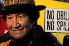 Te Whanau a Apanui rununga chairwoman Adelaide Waititi was at court supporting Elvis Teddy. Photo/ Alan Gibson