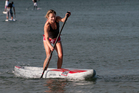 Victoria Stuart loves the physical and mental benefits of SUP boarding, or