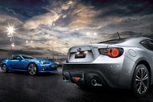 The Toyota 86 and Subaru BRZ (pictured) were sold out before they even arrived in New Zealand. Photo / Supplied