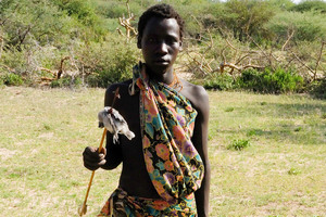 Hadza tribespeople of Tanzania trek great distances each day to seek food. Photo / Creative Commons