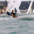 Young sailors competing in junior competitions with the Murray's Bay Sailing Club. Photo / Supplied
