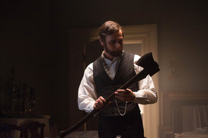 Benjamin Walker portraying Abraham Lincoln in a scene from 'Abraham Lincoln: Vampire Hunter.'  Photo / AP