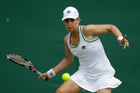 Marina Erakovic competing at Wimbledon last month. Picture / AP