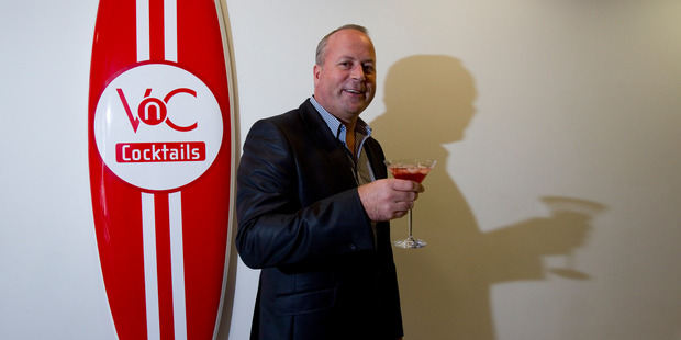 Shane McKillen, managing director of VnC Cocktails. The company is the target of acquisition talks with US liquor firm Panache Beverages. Photo / Dean Purcell