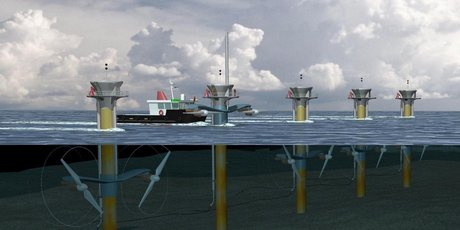 The economics of marine renewables will be dominated by capital costs, the fuel is free.