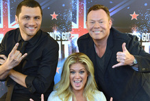 The award-winning 'Sunday' will make space for New Zealand's Got Talent, hosted by (from left) Jason Kerrison, Rachel Hunter and Ali Campbell. Photo / Peter McIntosh