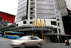The council hopes to eventually have 2400 of its 6000 staff working in the ASB Bank Tower instead of spread round town. Photo / Janna Dixon