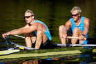 Hamish Bond and Eric Murray are hoping for Olympic glory. Photo / Christine Cornege