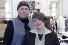 World designers Frances Hooper and Denise Lestrange-Corbet. Photo / Doug Sherring