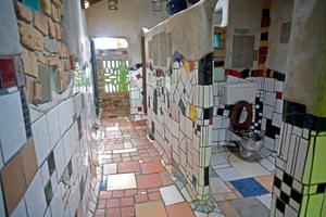 The Hundertwasser toilet in Kawakawa Northland. Photo / File