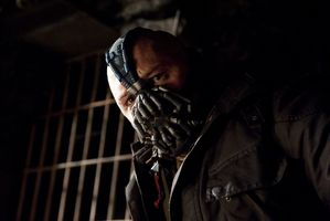 Tom Hardy as Bane in The Dark Knight Rises. Photo / Supplied