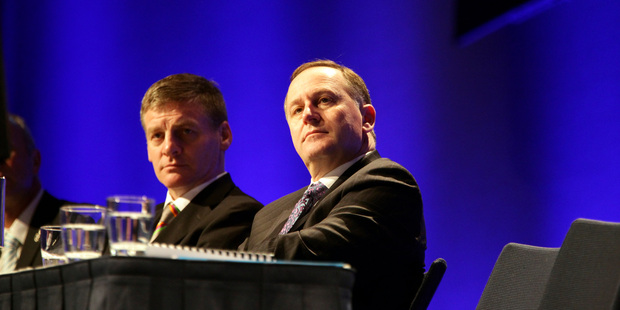 Bill English has slipped ahead of his leader John Key in the Cabinet ratings. Photo / Michael Craig