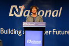 Hekia Parata at the National Party conference. Photo / Michael Craig