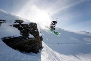 Skiing at Treble Cone. Photo / Sarah Ivey