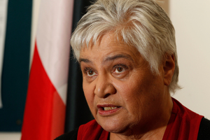 Maori Party co-leader Tariana Turia. File photo / Mark Mitchell
