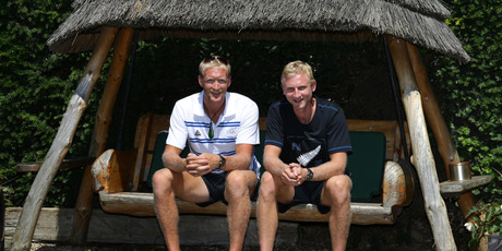 The New Zealand rowing coxless pair, three-times world champions Eric Murray and Hamish Bond, are confident favourites. Picture / Brett Phibbs
