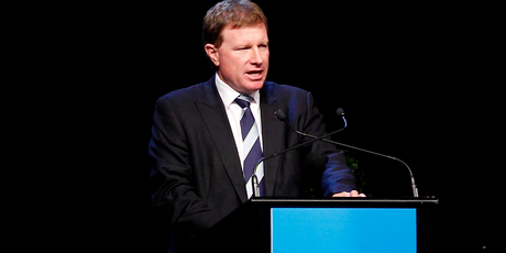 John Wilson, Fonterra's new chairman elect.  Photo / Christine Cornege.
