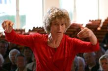 Conductor Rita Paczian. Photo / Supplied