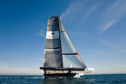 Oracle's catamaran. Photo / Supplied