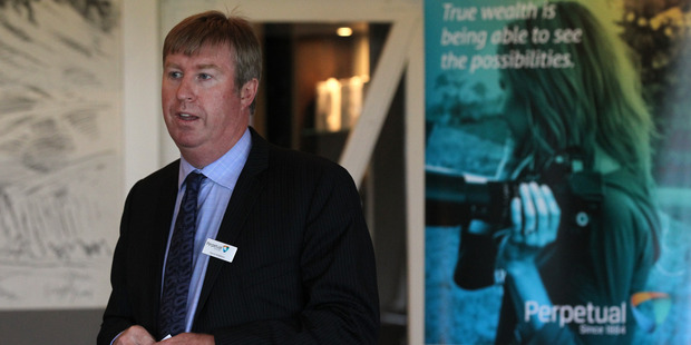 Perpetual chief executive Patrick Middleton. Photo / Duncan Brown