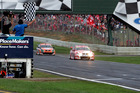 Some city leaders have slammed the return of the V8s to Pukekohe Raceway next April. Photo / NZPA