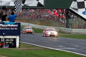 The decision to bring the V8s back to Pukekohe will be a winner, says the chairman of the Supercars company. Photo / NZPA