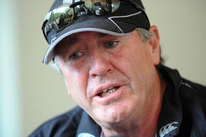 New Zealand cricket coach John Wrigh is leaving soon. Photo / NZPA