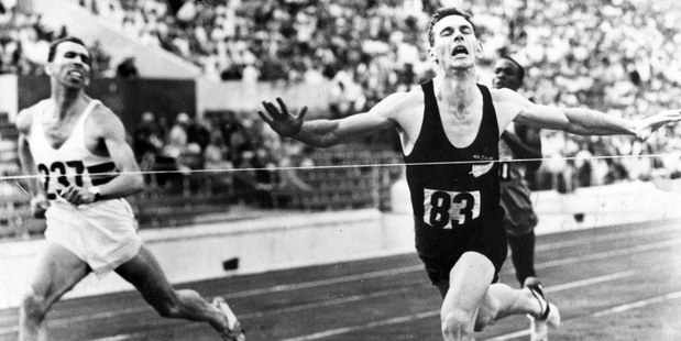 Peter Snell was little known before he swept to victory in the 800m at the 1960 Olympic Games in Rome. Photo / File