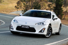 The Toyota 86 GT has already sold out before arriving in New Zealand. Photo / AP